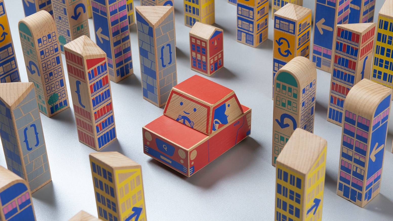 A Montessori inspired, screen-free, gender neutral wooden toy combined with patented RFID technology.