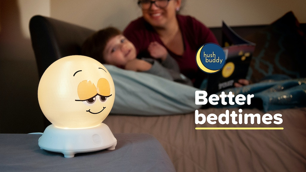 Hush Buddy teaches toddlers to go to sleep quickly & quietly project video thumbnail