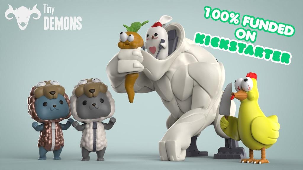 Tiny Demons: Designer Art Toys project video thumbnail