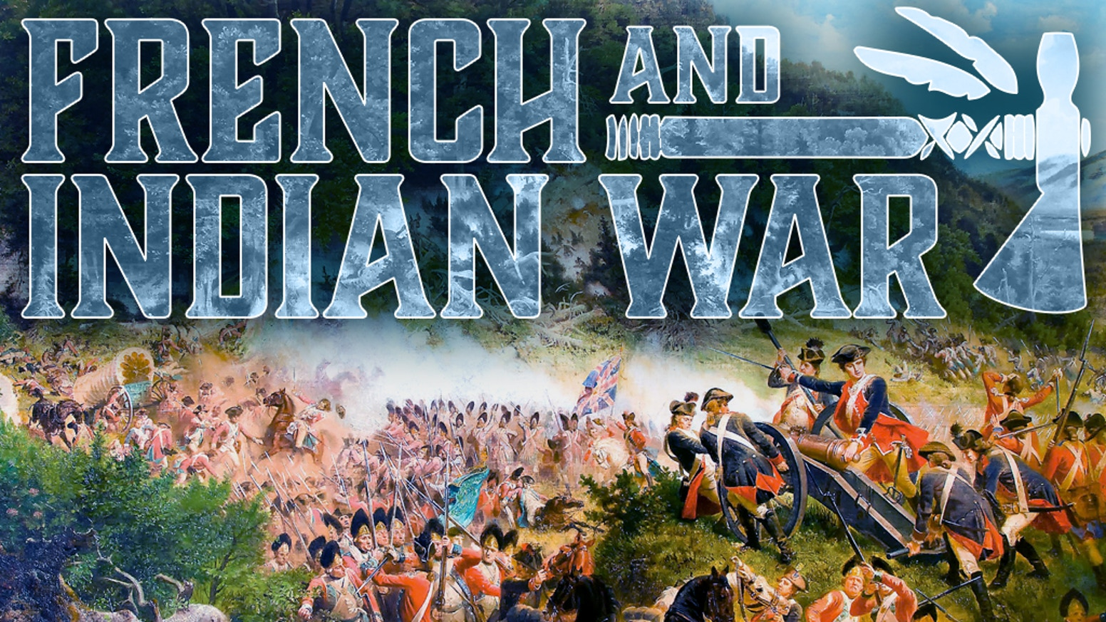 A strategic game on the French & Indian War, 1757-1759.  Designed for 2 players.  Playable in 1 to 2 hours.  Two ways to play.