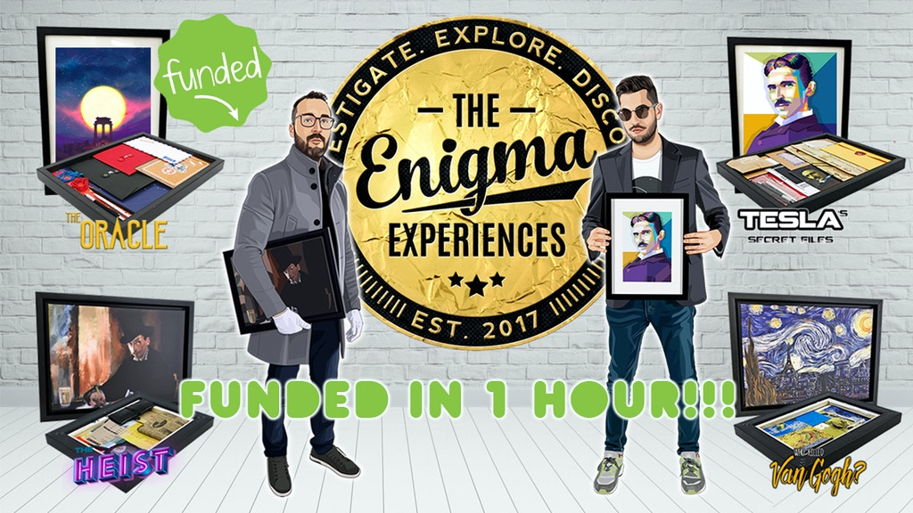 Project image for The Enigma Experiences (Canceled)