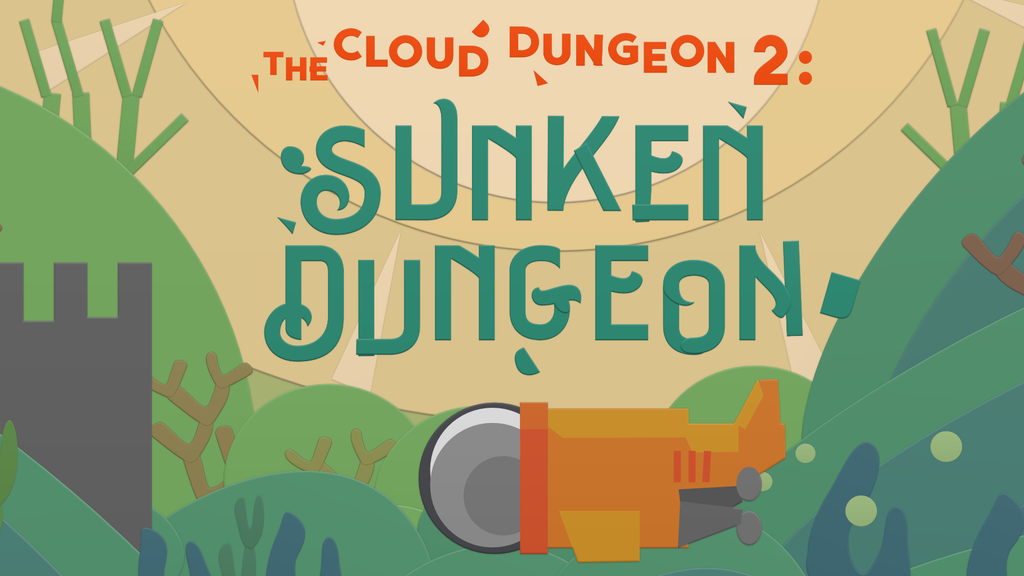 Sunken Dungeon. DnD+Coloring. (The Cloud Dungeon 2) project video thumbnail
