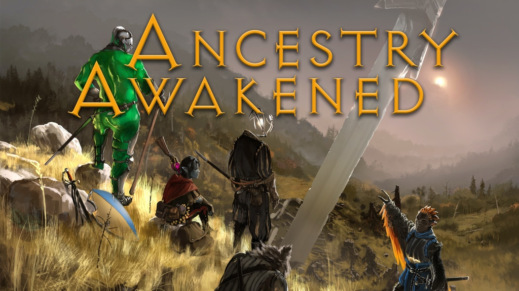 Ancestry Awakened: New and Reworked Ancestries (Race) for 5e project video thumbnail