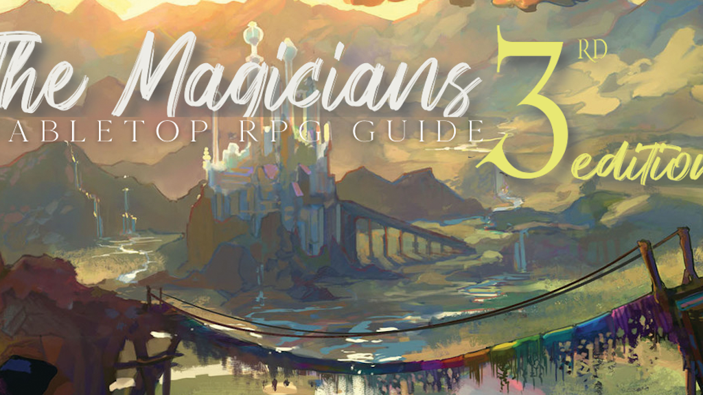 Project image for The Magicians DND book 3rd Edition