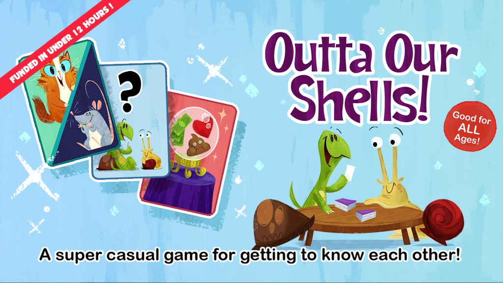 Outta Our Shells: The Card Game To Get To Know Each Other project video thumbnail