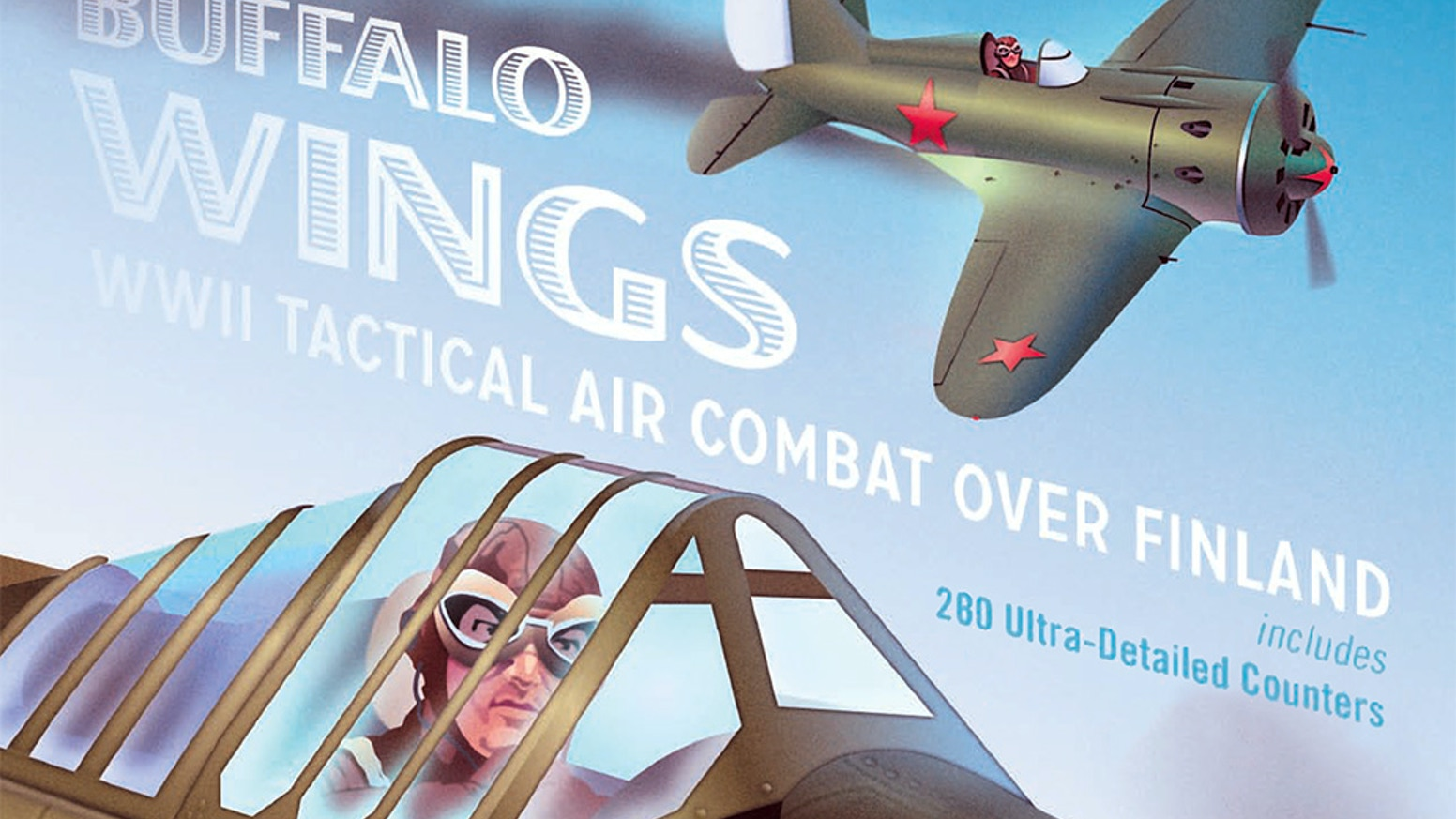You can STILL get a copy, using a Late Pledge at the ATO site. Against the Odds Magazine is finishing up Buffalo Wings 2, with updated rules, parts and LOTS MORE planes, scenarios, and maps. (FOUR maps!)