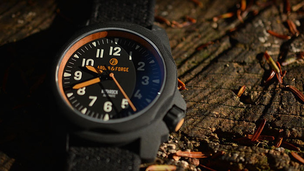 Ardor & Forge | Rothrock: A Rugged, Automatic Field Watch