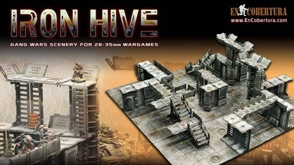 IRON HIVE project video thumbnail