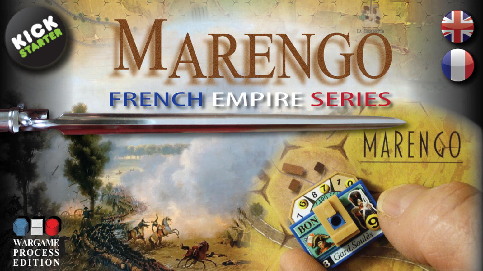 A dynamic, fluid and innovative wargame that accurately simulates historical battles.