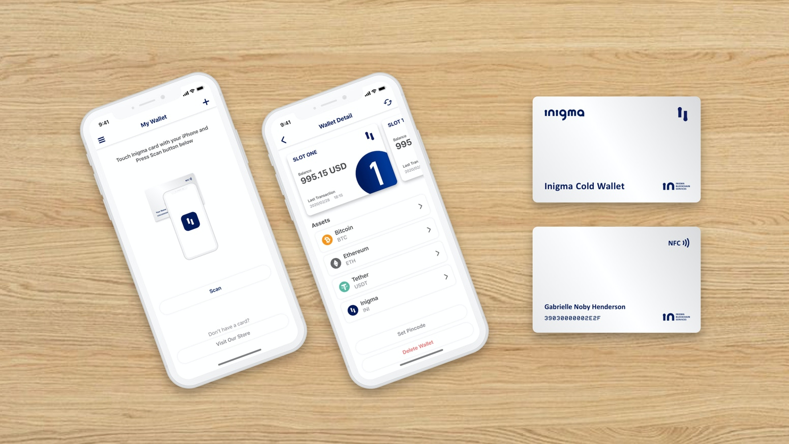cryptocurrency wallet card