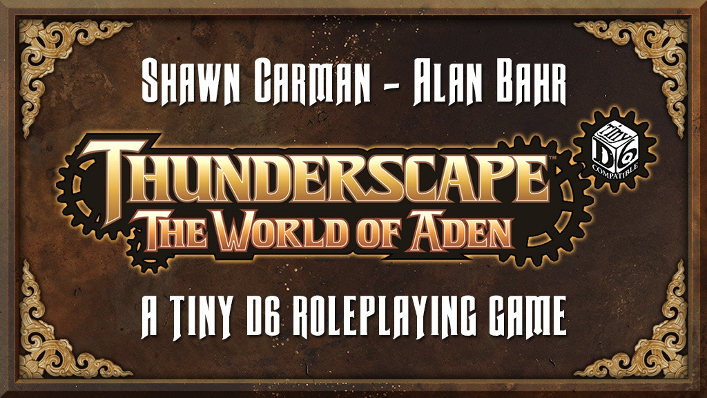 Project image for Tiny Thunderscape: A Tiny D6 Role-Playing Game