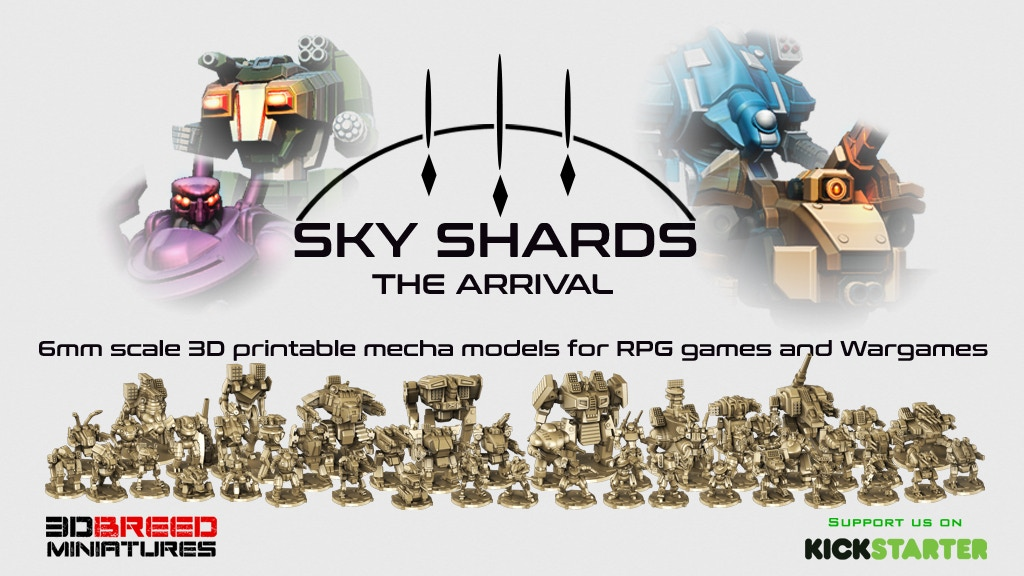 Sky Shards: The Arrival project video thumbnail