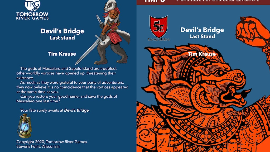 Devil's Bridge: Dungeons and Dragons (D&D 5E Compatible) project video thumbnail