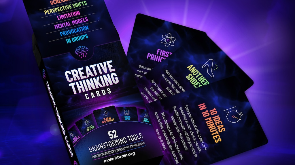 Creative Thinking Cards project video thumbnail