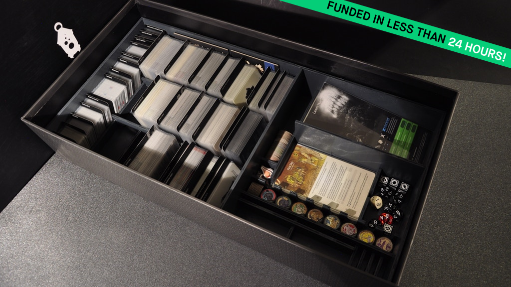 KDM Monster Organizer — Board game boxes finally made smart project video thumbnail