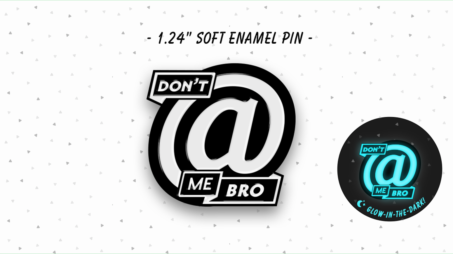 Enamel pins for those weary introverted souls inundated by useless and unnecessary notifications.