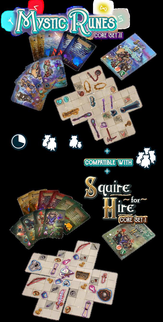 Squire for Hire - Mystic Runes Core Set 2