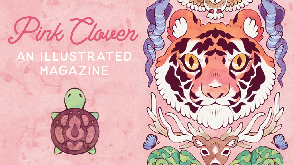 Pink Clover Magazine project video thumbnail