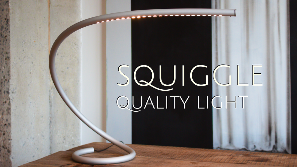 Squiggle Table Lamp - Unique 3D tube bending project video thumbnail