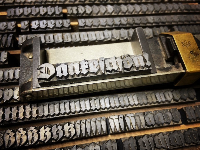 A professional font digitization to be made available for free to everyone