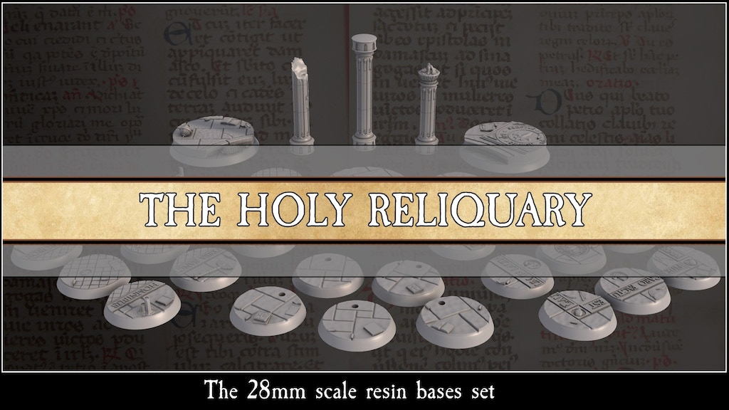 Project image for The Holy Reliquary (Canceled)