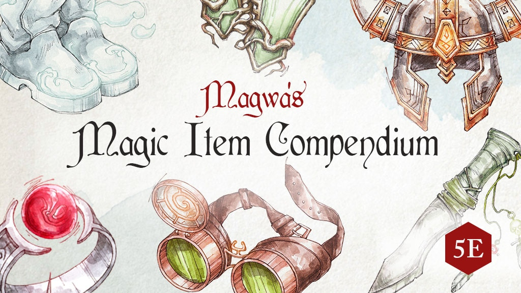 Magwa's Magic Item Compendium: Hardcover project video thumbnail