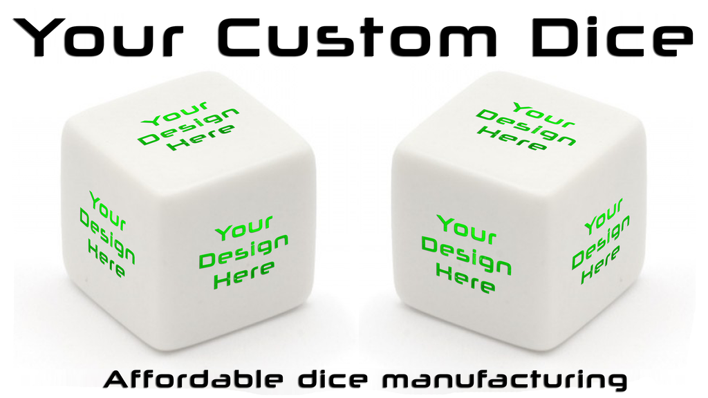 Your Custom Dice - Affordable dice manufacturing project video thumbnail