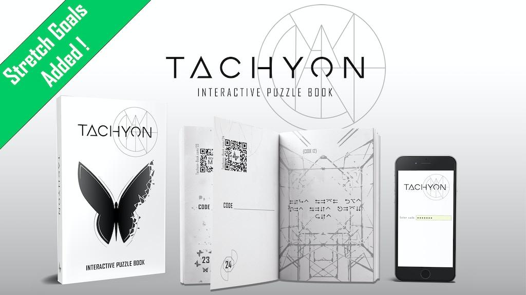 Tachyon: Interactive Puzzle Book project video thumbnail