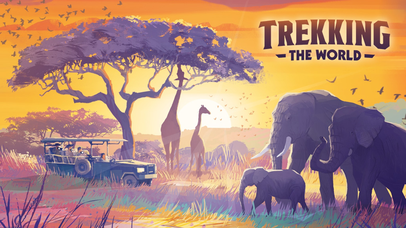 A beautifully illustrated game celebrating the pleasures and wonders of world travel.