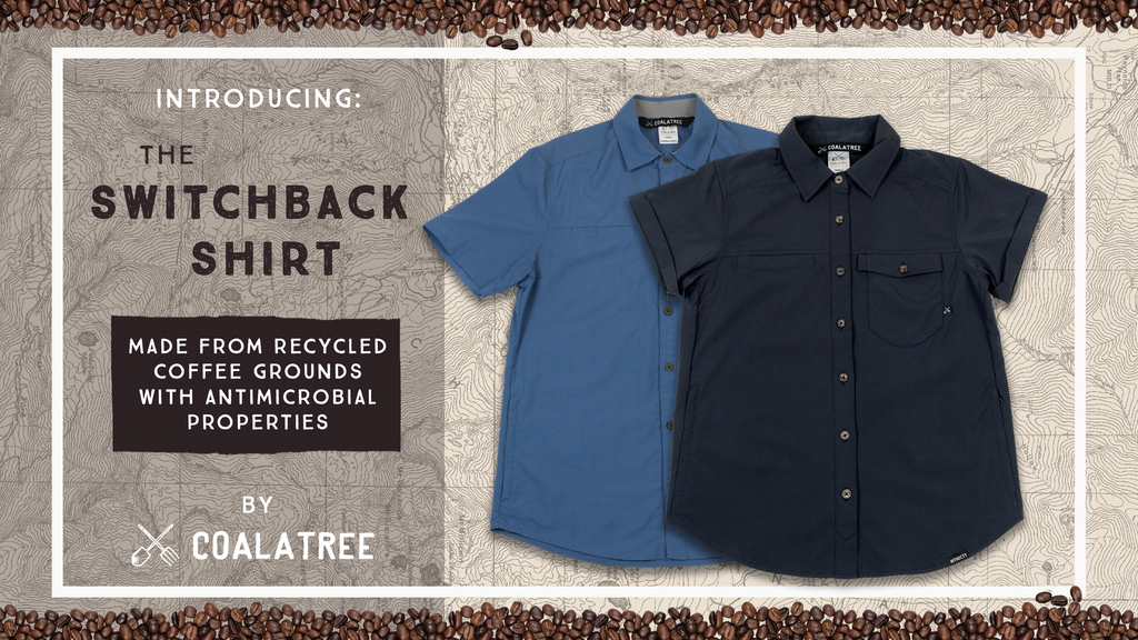 Switchback Shirt: Made from recycled coffee grounds project video thumbnail