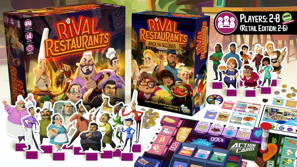 Rival Restaurants: Back for Seconds (Reprint + Expansion) project video thumbnail