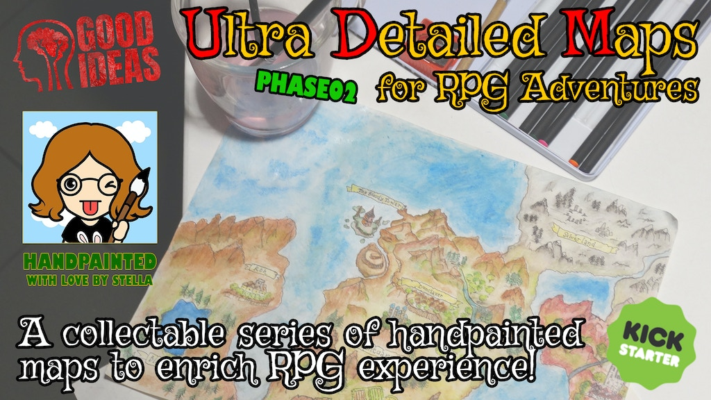 Project image for UDM - Ultra Detailed Maps for Fantasy Role Playing (Phase02)