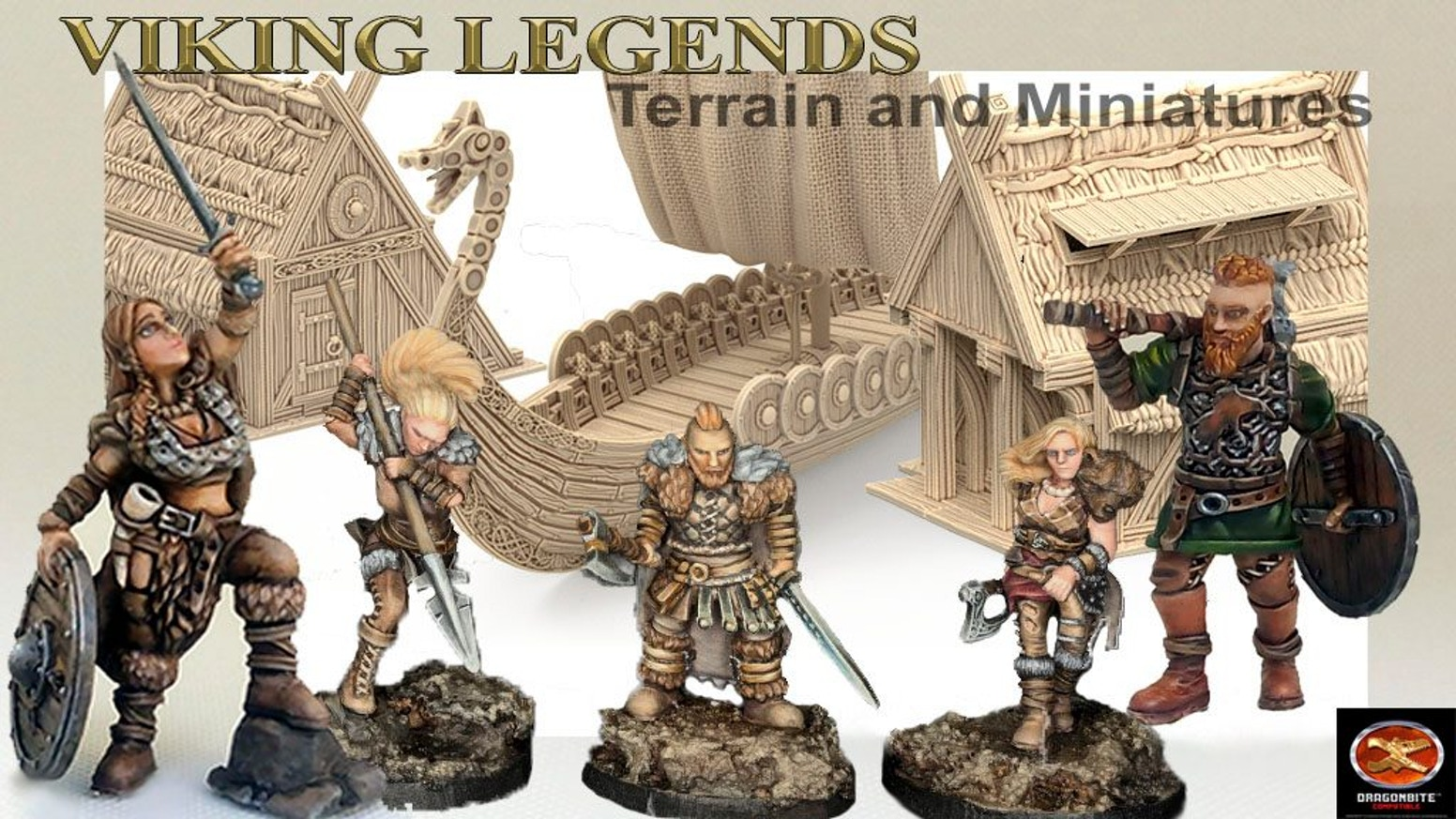 3D Printable STL Miniature Files and Terrain for your Table Top Role Playing Games. Featuring Viking and Epic Historic Terrain.
