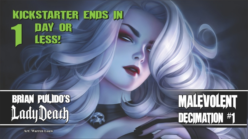 BRIAN PULIDO'S NEWEST - LADY DEATH: MALEVOLENT DECIMATION #1 project video thumbnail