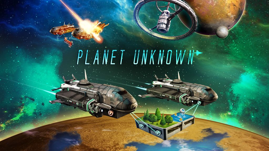 Planet Unknown project video thumbnail