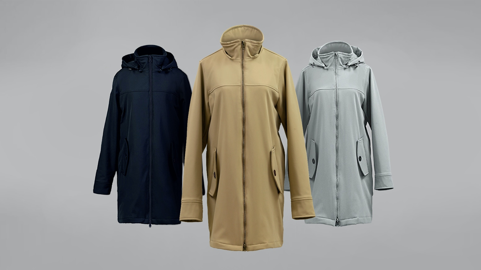 Waterproof, Windproof, Thermoregulation, Anti-Bacteria, Anti-Odor, Anti-Static, Comes with A Detachable Inner Down Jacket, ECO-Friendly