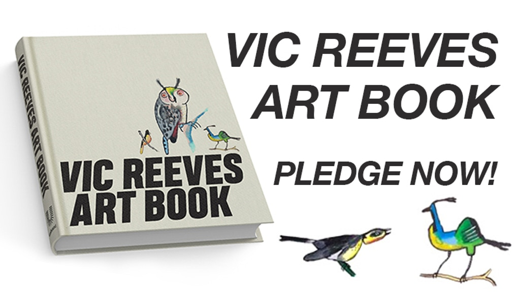 Project image for VIC REEVES ART BOOK