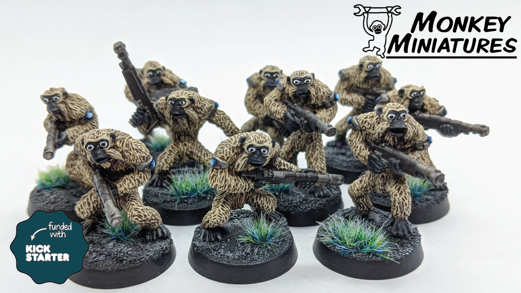 Project image for Space Apes II: Rise of the Monkey Gangs
