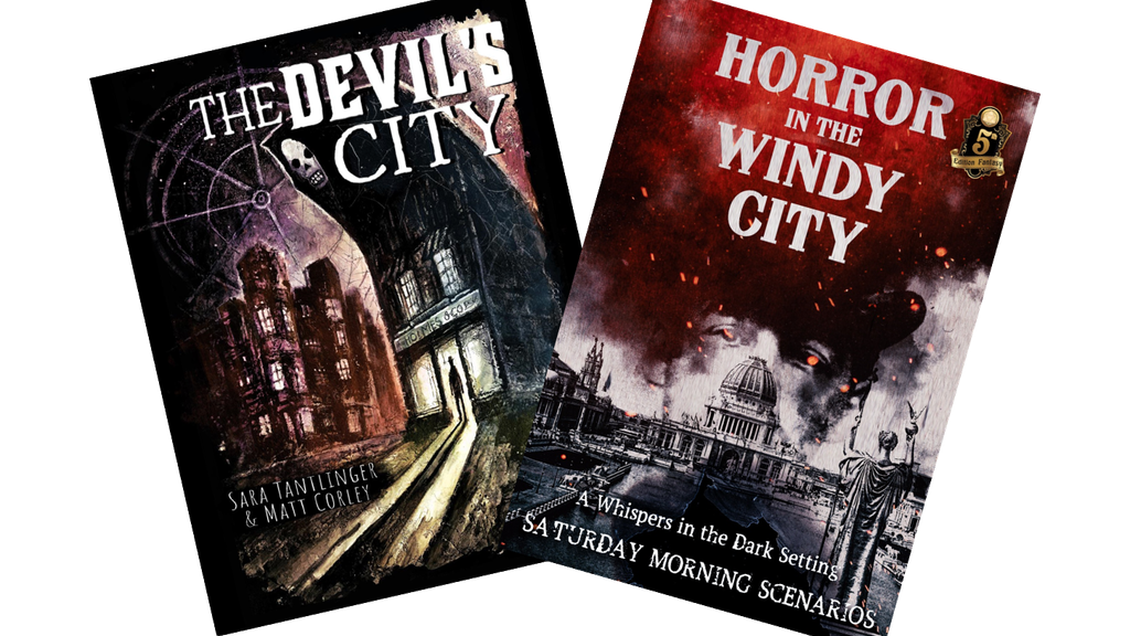 The Devil's City: Horror Fiction & 5e Gaming Conjoined project video thumbnail