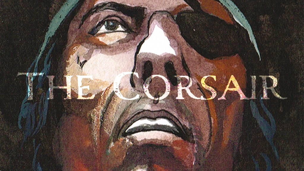 The Corsair - A Historical Adventure Graphic Novel project video thumbnail