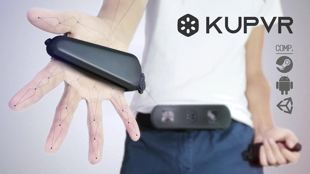 KupVR - World's 1st Affordable finger tracking VR controller