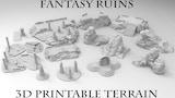 3D Printable Fantasy Ruins thumbnail