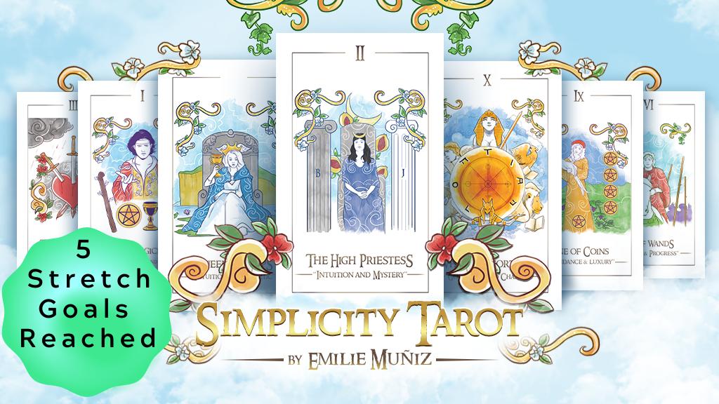 Simplicity Tarot project video thumbnail
