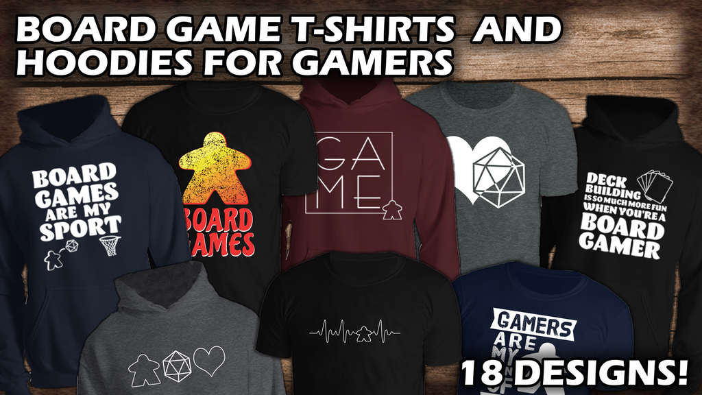 Project image for Board Game T-Shirts and Hoodies For Game Lovers