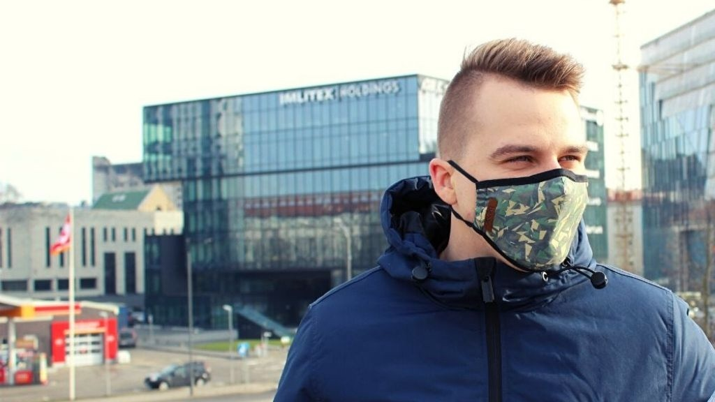 Ben2 : Military-Inspired antibacterial face mask