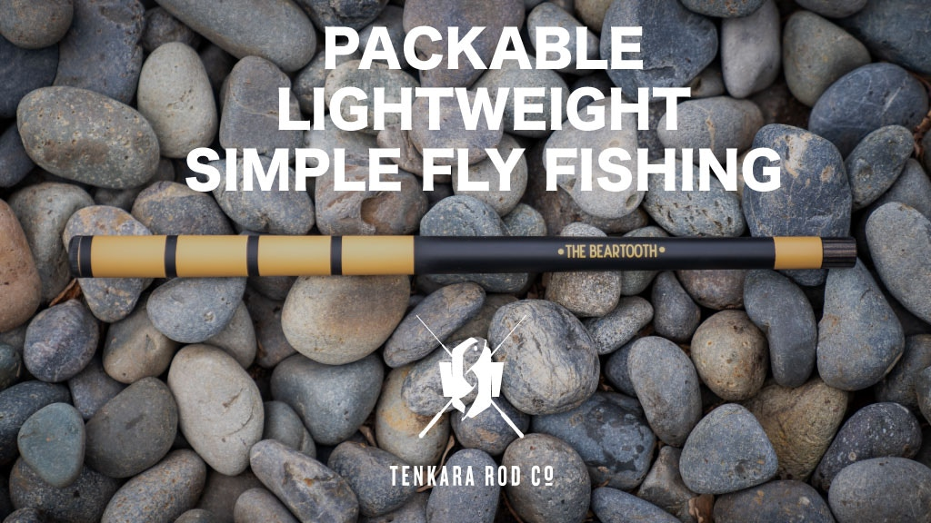 Tenkara Rod Co. - The Beartooth Rod - Go Anywhere Mini Rod project video thumbnail