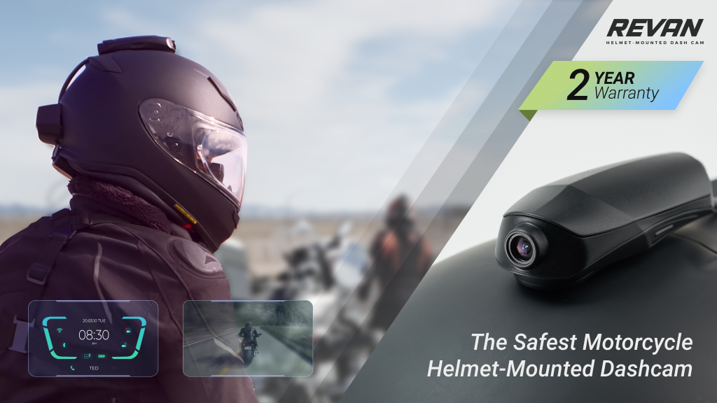 REVAN: The Safest Motorcycle Helmet-Mounted Dashcam
