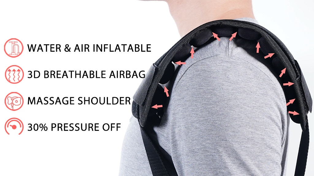 Innerneed: World 1st Water & Air Inflatable Shoulder Straps