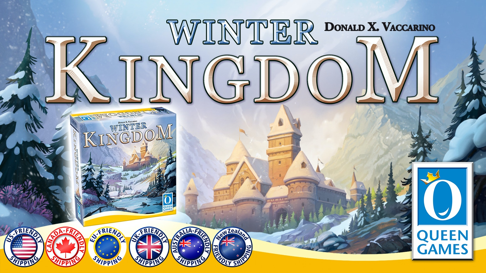 The stand alone spin off to the award winning Kingdom Builder!
