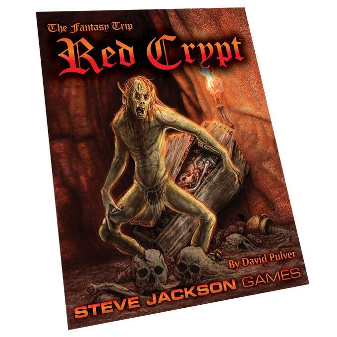 The Fantasy Trip: The Book of Unlife & Red Crypt